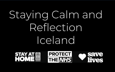 Staying Calm and Reflection: Iceland